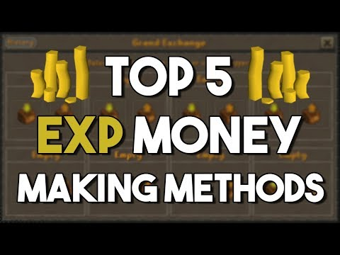 Top 5 Money Making Methods that Give Tons of EXP! - Oldschool Runescape Money Making Method [OSRS]