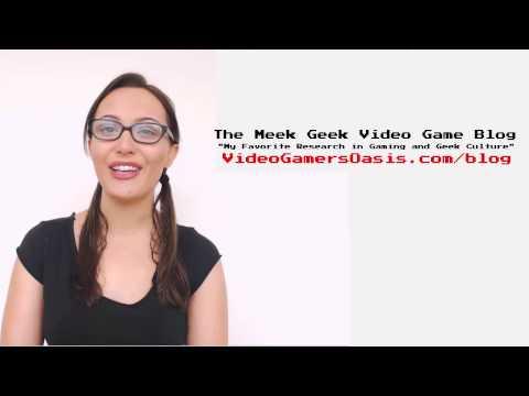 gg - The Meek Geek Video Game Blog Commercial - October 29, 2014