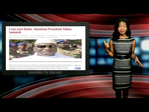 Keeping It Real With Adeola - Eps 140 (Gambian President To Cure Ebola)