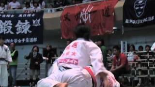 全日本学生柔道体重別選手権大会 2日目