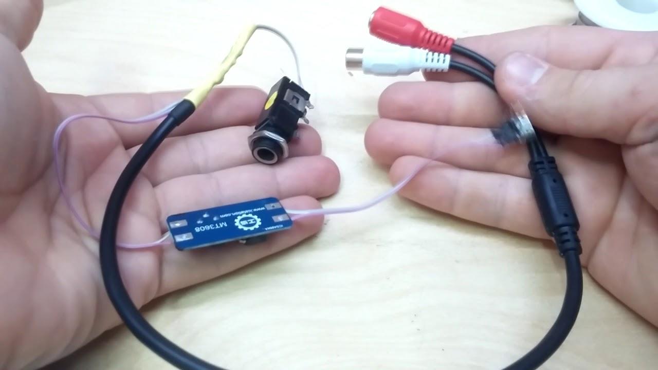 Как сделать микрофон для компа своими руками 5