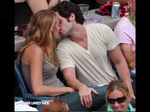 Blake Lively and Penn Badgley LOVE