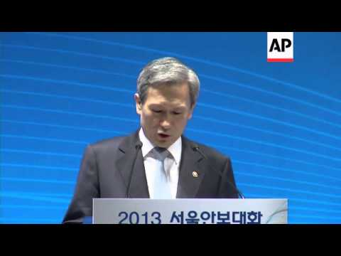 SKorean PM tells defence summit he hopes NKorea will discard nuclear weapons