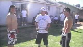 Paul Vs Tj      BACKYARD MMA FIGHTING