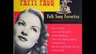 Patti Page   San Antonio Rose   1951