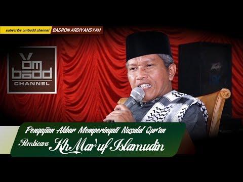 Pengajian Lucu  KH  Ma'ruf Islamudin (HD)