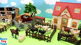 Toy Farm Animals For Kids - Learn Animal Names