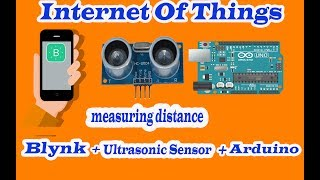HCSR04 Connecting ultrasonic sensor with smartphon