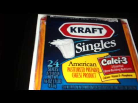 """ASMR DISTURBING Recent Change Kraft Cheese (from cheese food) to """"PRODUCT"""" Soft ASMR"""