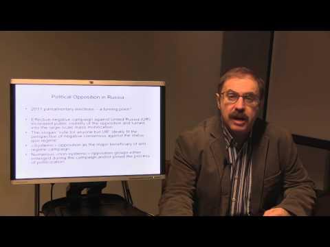 Professor Vladimir Gelman on Political Opposition in Russia