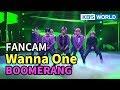 [FOCUSED] Wanna One - Boomerang [Music Bank  2018.04.06]