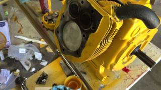 cub cadet model 149 refurbish part 10 rod installation and checking timing