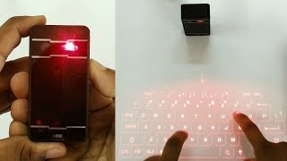 Laser Projection Keyboard Unboxing & Review