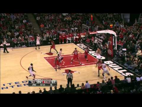 Brian Scalabrine Highlights 23/1/12