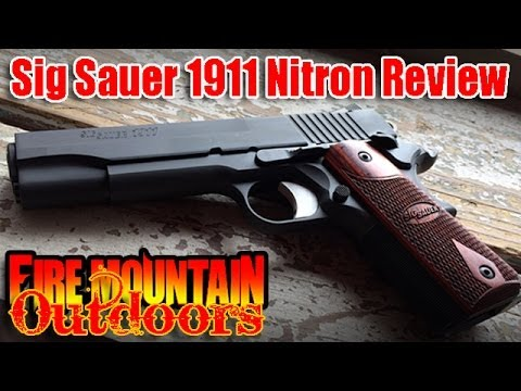 Field Review - Sig Sauer® 1911 Nitron: Redemption or another disappointment?