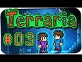 Youtube Thumbnail TERRARIA ☆ #003 - Überflutung! ☆ Let's Play Together Terraria 1.2