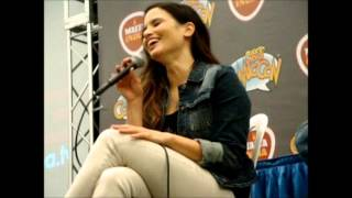 Katrina Law Q&A panel in the Puerto Rico Comic Con 2015