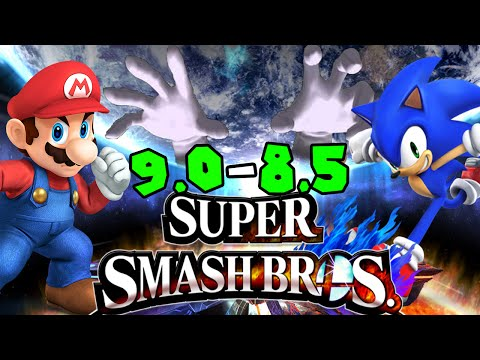 ABM: Mario Sonic Super Smash Bros Wii U on Classic Mode
