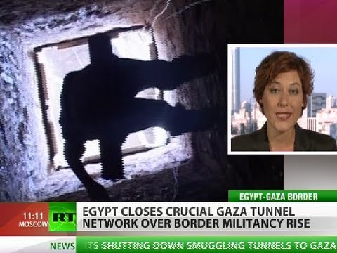 Egypt shuts Gaza lifeline tunnels over border violence