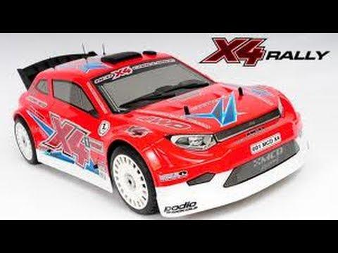 MCD X4 Rally 6 HP RC Car