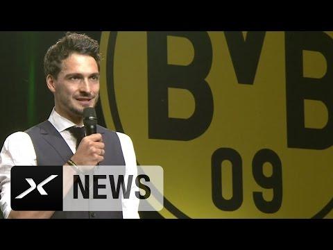 """Mats Hummels Abschiedsrede: BVB-Zeit war """"unerwartet schön""""   Borussia Dortmund"""
