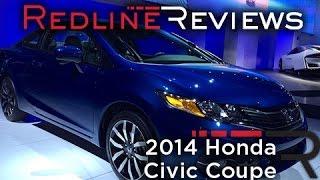 2014 Honda Civic Coupe – 2013 Los Angeles Auto Show