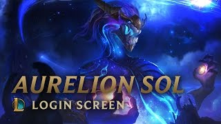 Aurelion Sol, the Star Forger | Login Screen - League of Legends