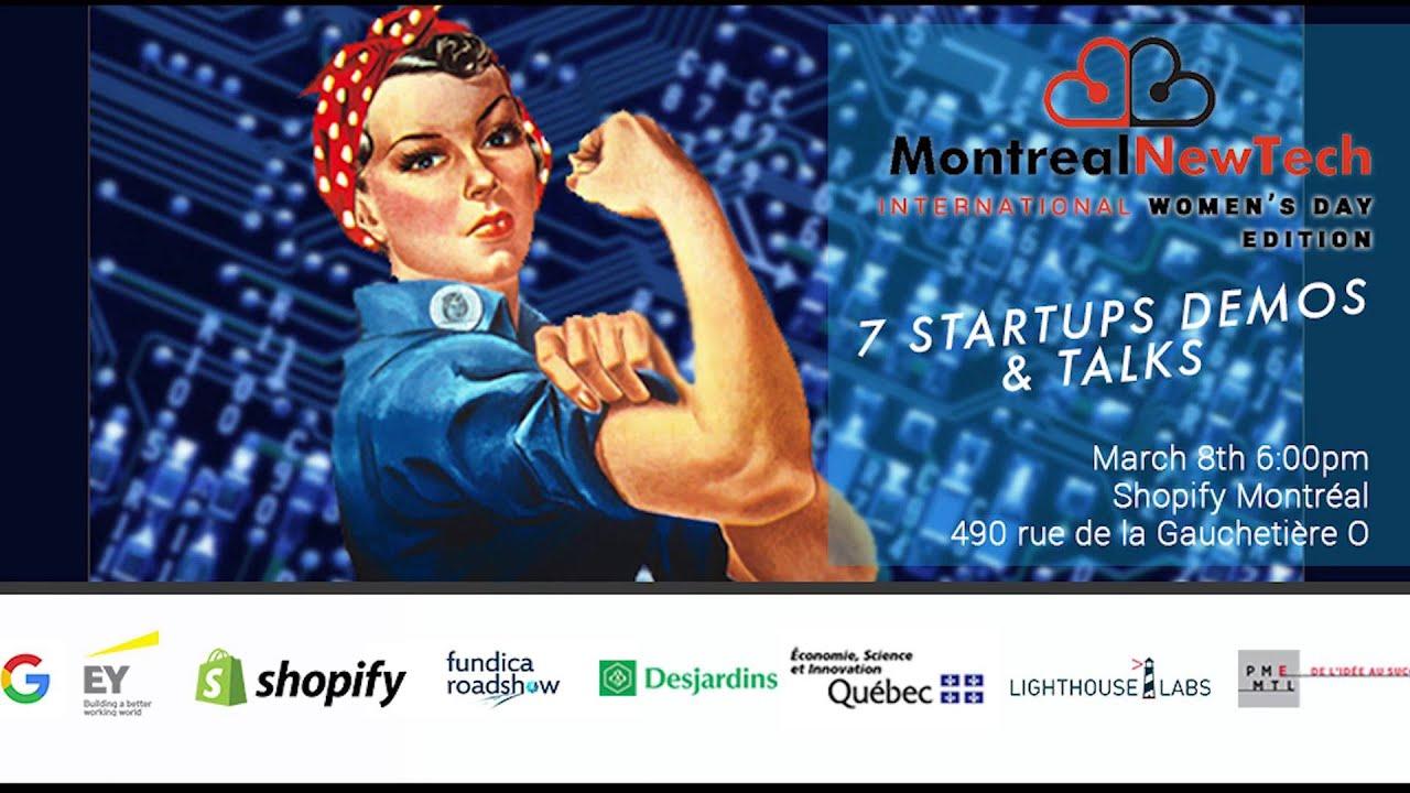 Montreal New Tech - International Women's Day Edition Tylio