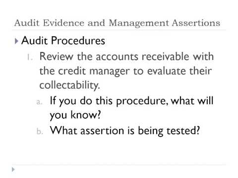 Auditing: Management Assertions: Lecture 7 - Professor Helen Brown Liburd (Spring 2014)
