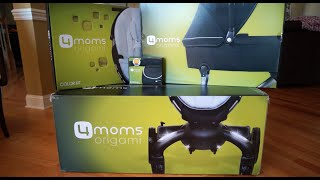 4moms Origami Stroller Review (Unboxing and Assembly with Bassinet)