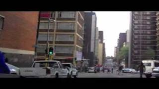 Driving through Johannesburg & Hillbrow