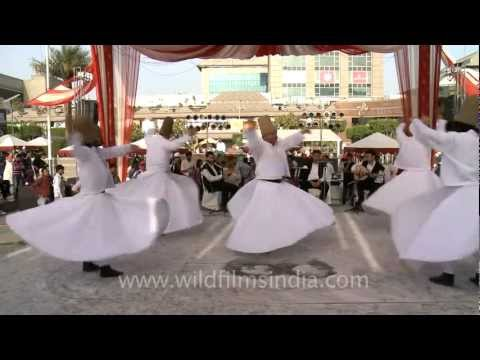 Turkish Semazen ( whirling Dervishes ) at the Turkish Fest 2012