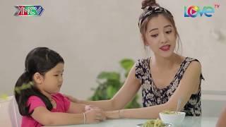 Puka và chồng vật lộn tìm cách để con ăn rau