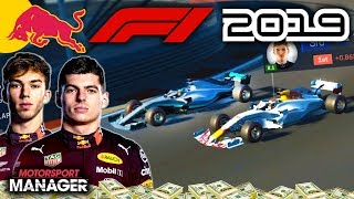 SEASON FINALE! VERSTAPPEN V HAMILTON! - F1 2019 Red Bull Honda Manager Career Part 32
