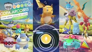 Batallas de prueba  para la Copa Arcoíris Part. 2 [Pokémon GO]