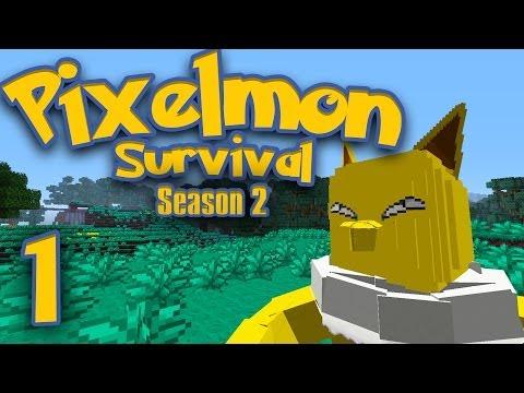 Pixelmon Survival [Season 2: Part 1] - The Hills Have Hypno