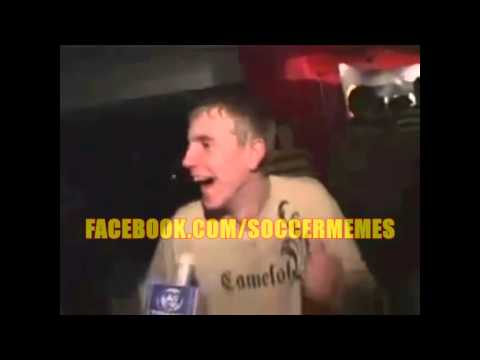 A Drunk Manchester United fan finds out about Angel Di Maria signing