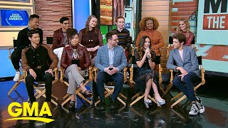 Exclusive look into 'High School Musical: The Musical: The Series' | GMA