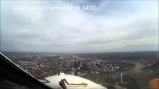 London City Airport Runway 09 ILS Flight Calibration Runs