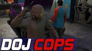 Dept. of Justice Cops #532 - Blaine County Slasher