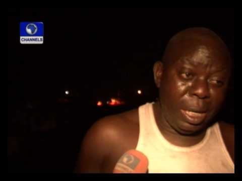 Fire Destroys Dozens Of Buildings In Ebute Metta video