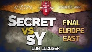 FINAL ECL EVENTO 4V4 - SECRET VS SY (TheViper, Tatoh, Mr Yo etc.)