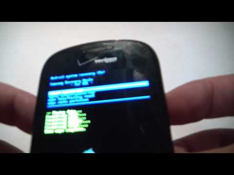 How To Hard Reset A Samsung Galaxy S Continuum Smartphone