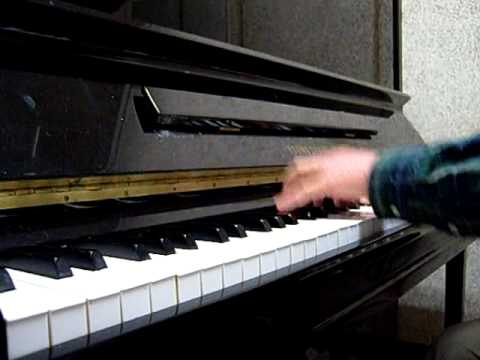 When I fall in love piano solo