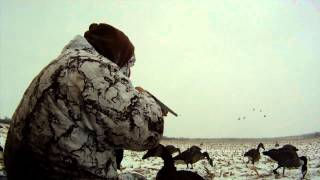 MI Blizzard Goose Hunt Big Sean Hammock