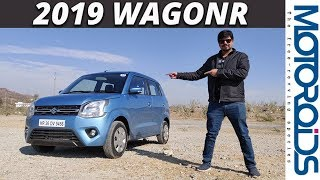 New 2019 WagonR In-Depth Review । Manual + AGS AMT | Big on Space | Motoroids