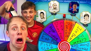 MYSTERY WHEEL FORFEIT CHALLENGE vs MY BRO