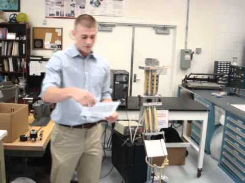 Pneumatic Artificial Muscle demonstration