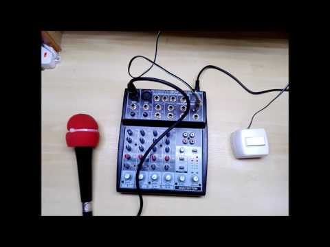 #0070 Como conectar un Microfono a un equipo de radio a través de una consola