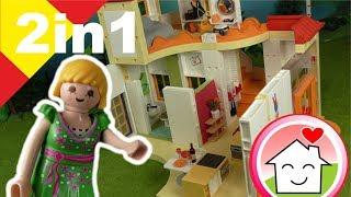 Playmobil en español Tunea tu Playmobil 2 en 1 guardería apartamento - Familia Hauser